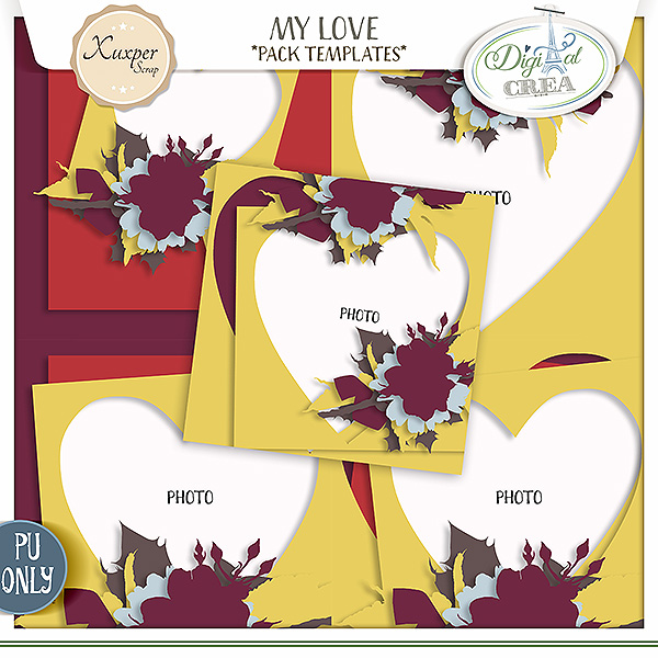 My love templates de Xuxper designs