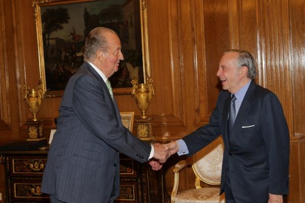 Juan Carlos au travail