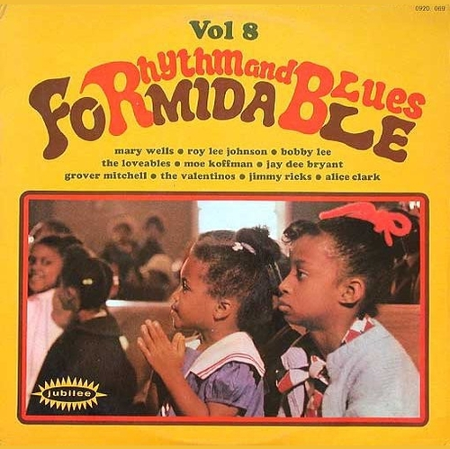 "Série "" Formidable Rhythm & Blues Vol 8 "" Jubilee Records 0920069 [ FR ]"