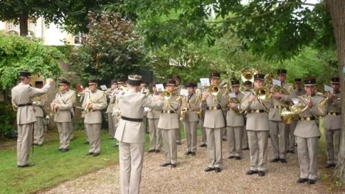 Cérémonies de la fête nationale (13 juillet 2011)