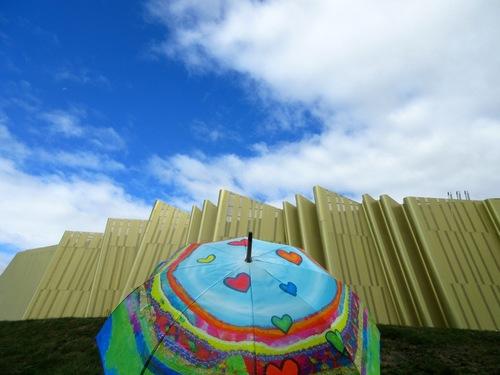 Architecture et ombrelles