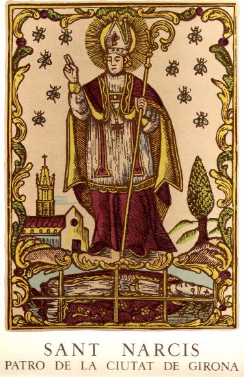 Saint Narcisse de Gérone  (4ème s.)