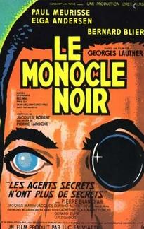 LE MONOCLE NOIR BOX OFFICE FRANCE 1961