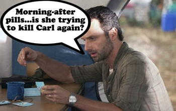 The Walking Dead memes 33
