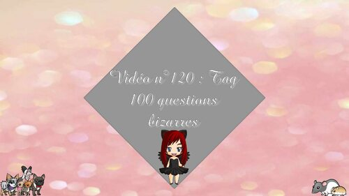 TAG | 100 questions les plus bizarres