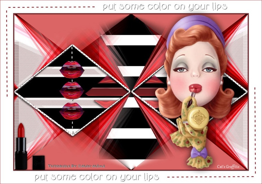 Lips, put some color on your lips