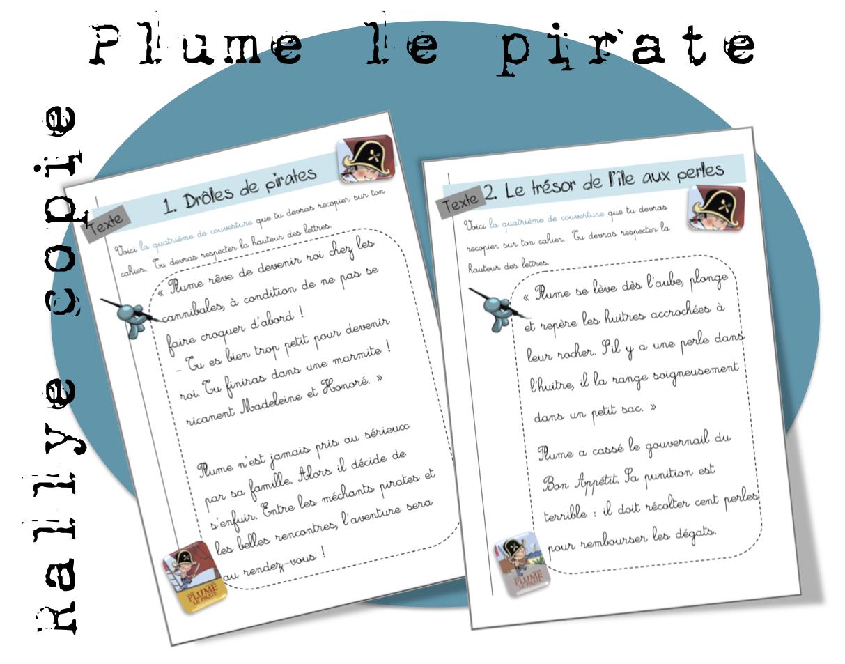 Rallye copie : Plume le pirate