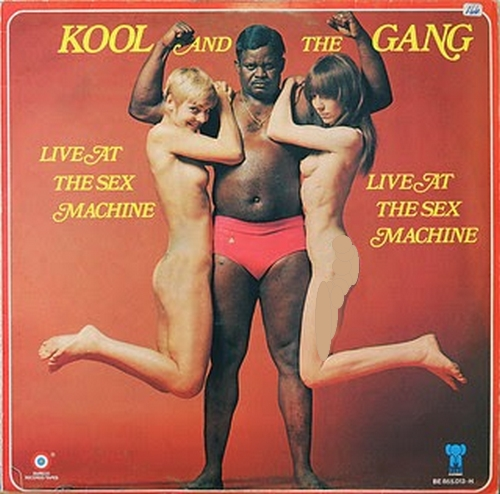 "Kool & The Gang : Album "" Live At The Sex Machine "" De-Lite Records DE 2008 [US]"