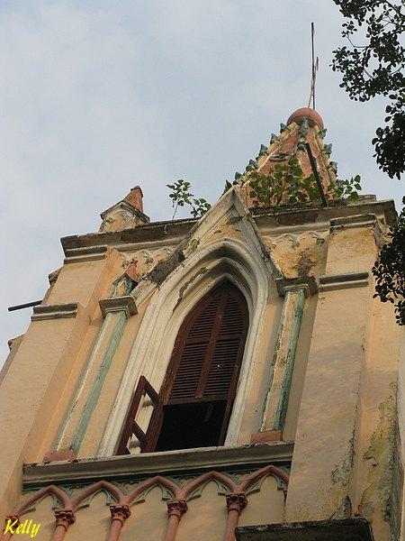 Chine Canton Guangzhou Eglise Notre Dame de Lourdes - 2008
