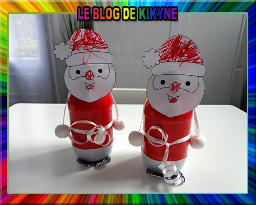 Père Noël en bouteilles