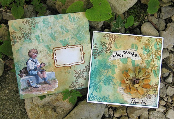 Un mail art et sa carte