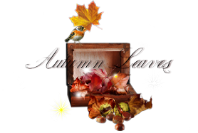 Tutoriel Tag de Tchounette - Autumn Leaves