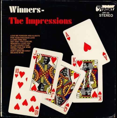 "1968 : Album "" Winners "" Up Front Records UPF 102 [ US ]"