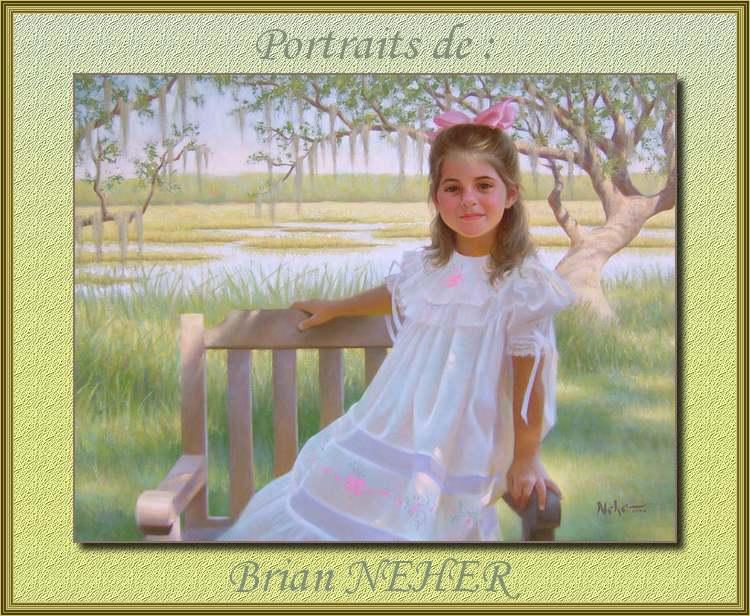 Portraits de : Brian NEHER