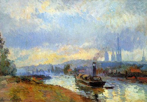 Peinture de : Albert Lebourg