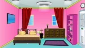 Pink treasure room escape
