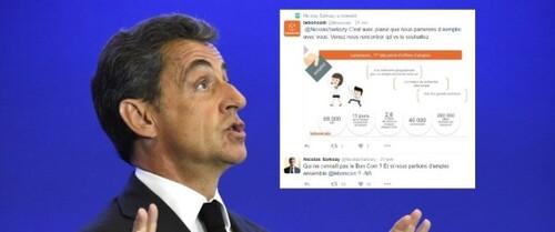 Nicolas Sarkozy a répondu au Bon Coin ...