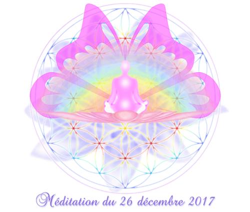 Méditation du 26 décembre 2017