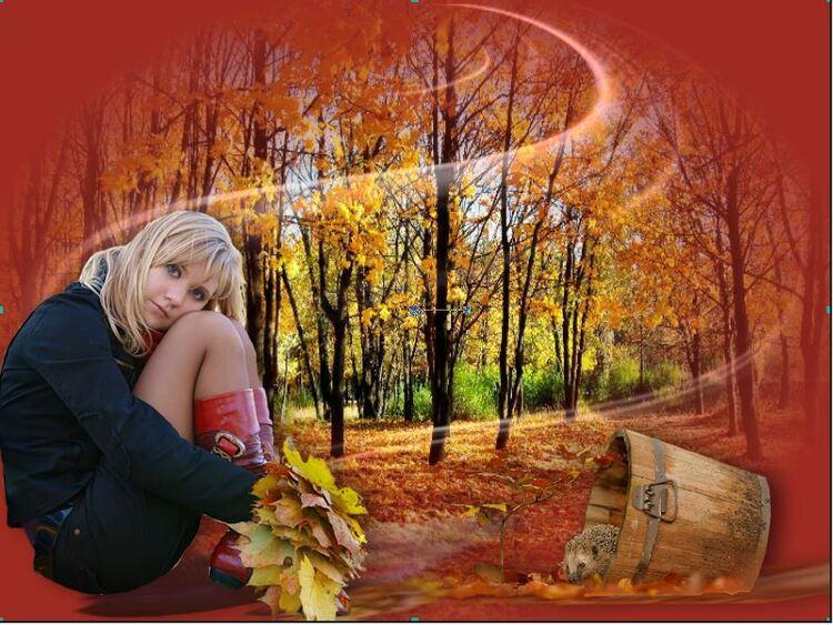 20. Agréable automne
