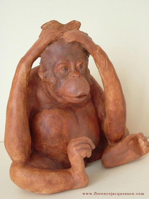 Florence Jaquesson sculpteur animalier