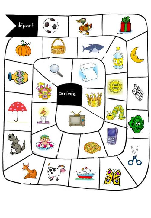 Les Syllabes d'Attaque: jeu de plateau