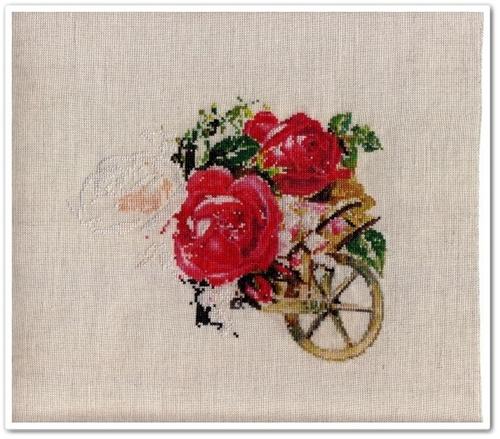 Victorian Rose Cart 8