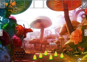 Jouer à Mushroom forest butterfly girl escape