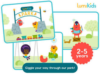 Lumikids - application pour enfants