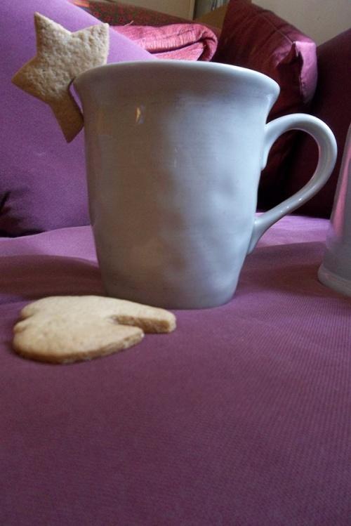 Sablé au goût d'automne pour l'heure du thé