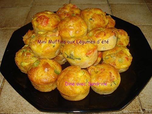 Mini Muffins aux Légumes d'été 8