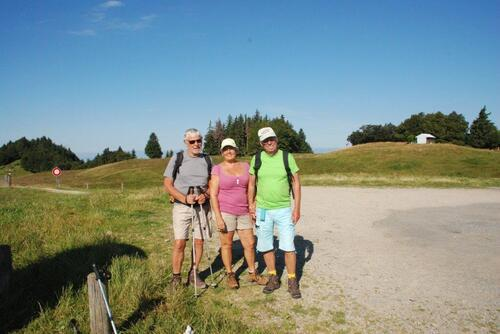 Avec Huguette et Jean Pierre