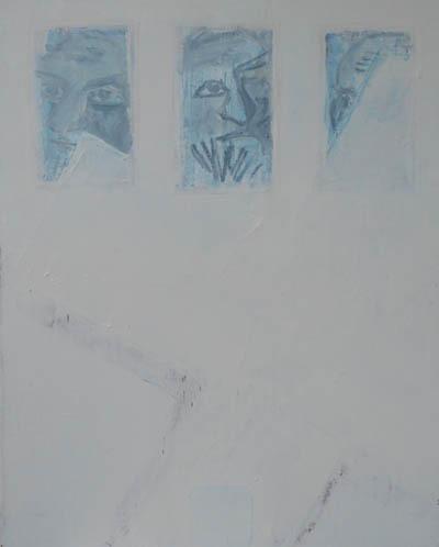 Croix sur 3 autoportraits