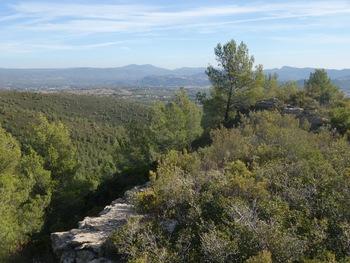 Une partie du point de vue depuis l'aire de pique-nique (APN)