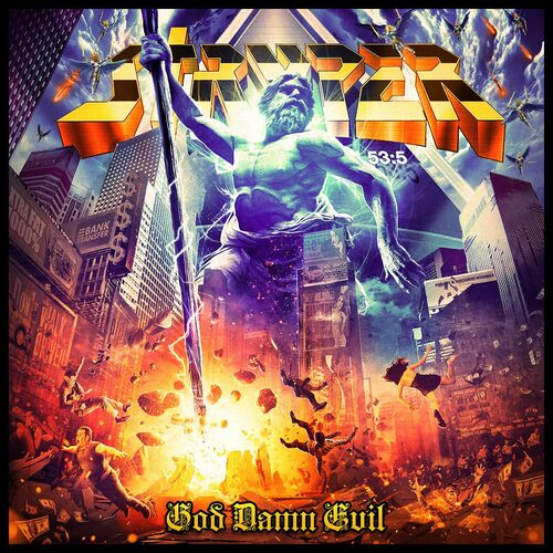 Stryper : God Damn Evil - cover