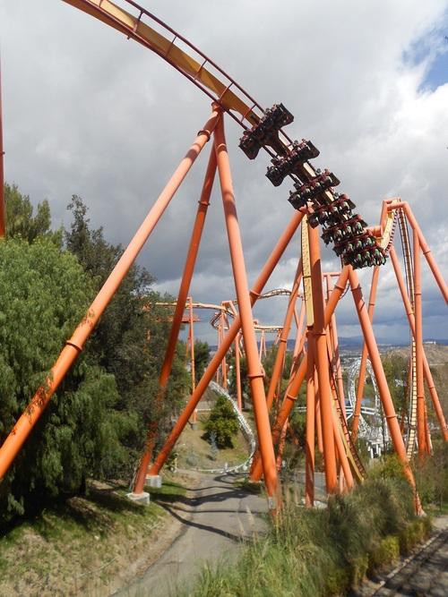 Jour 8 - Six Flags Magic Mountain (le retour)
