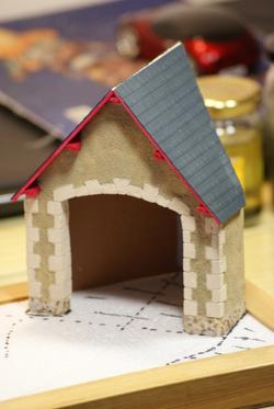 Diorama 4cv: Deuxième partie (la grange)