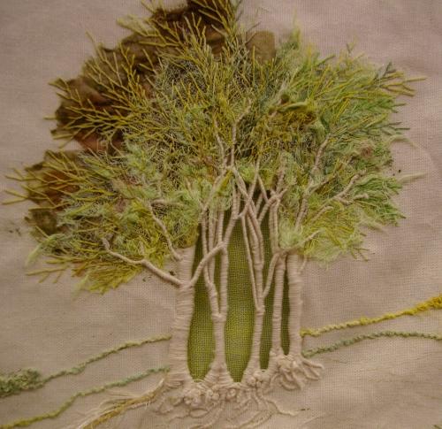 Art textile : les paysages