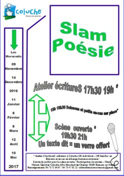 Dates slam poésie et autres en vue...Drôme 26 & alentours...