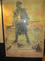 """Exposition """"La guerre de 1914-1918"""" à la Médiathèque."""