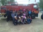 visite de la caserne des pompiers par les élèves de 6ème année le 30/10/2012