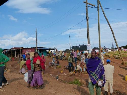 visite d'un village dorzé