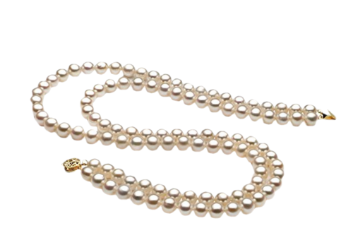 Tube collier de perles