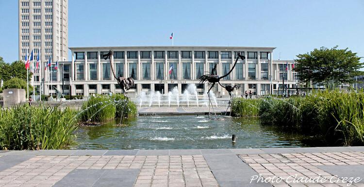 Jardin de l'Hotel de ville du Havre