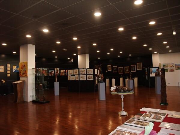 Lundi - L'expo (1) Vues d'ensemble