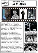 Les grands noms du cinéma - Charlie Chaplin