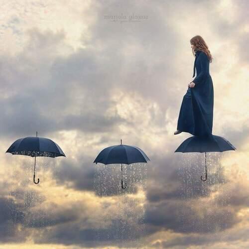 Je marche sur les parapluies de ma vie