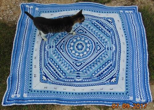 "Un ""Mandala"" au crochet 20"