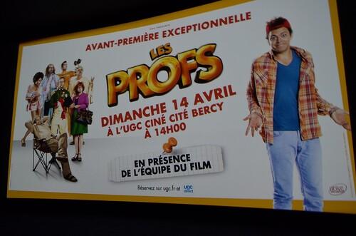 """Avnt première du film """"Les Profs"""" à Paris Bercy 14 avril 2013"""