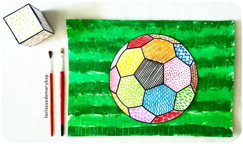 Coupe du monde : Graphisme et arts visuels.