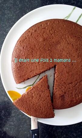 Gâteau au chocolat moelleux pour le goûter